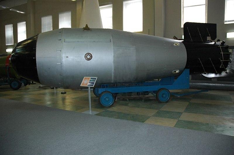 اكبر واقوى الاسلحة التي بنيت على مر العصور  800px-Tsar_Bomba_Revised