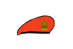 معلومات عن الجيش المصرى 250px-Military_police_Beret_-_Egyptian_Army