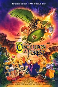 ONCE UPON A FOREST - 1993 - OUAF_poster