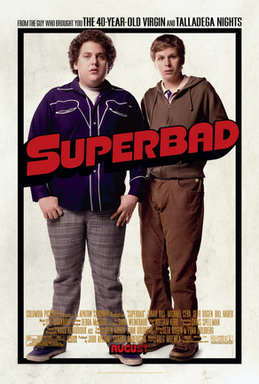 Movie Club Week 2: Superbad (2007) Superbad_Poster
