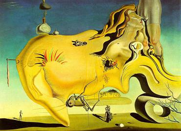 Surrealism in Film, Art, and Words DaliGreatMasturbator