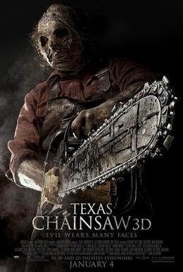"""FILM >> """"The Texas Chainsaw Massacre 3D"""" TheTexasChainsawMassacre3DPoster"""