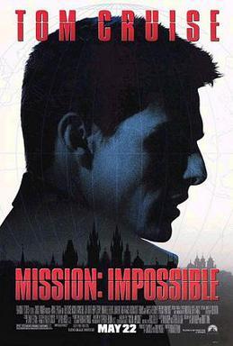 ¿Cual de las Entregas de Misión Imposible es la Mejor? MissionImpossiblePoster