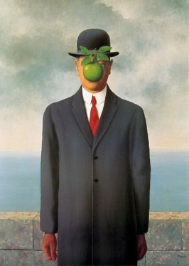 Books I've been reading Magritte_TheSonOfMan