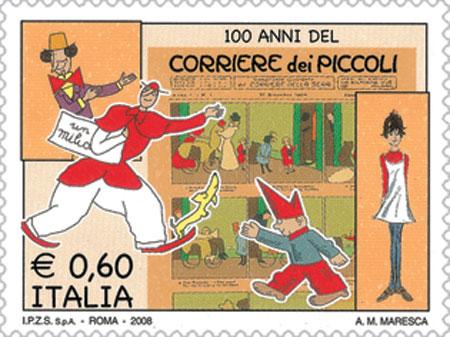 Fumetti che passione - Pagina 2 Corriere_dei_Piccoli_francobollo