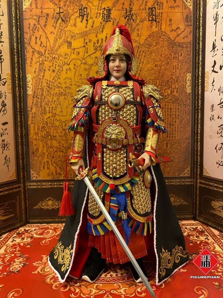 military - NEW PRODUCT: FENG TOYS: 1/6 Chinese Female General with Metal Armor (Qin Liangyu) 0ffe0ed05a227de052c71d466865e8ca