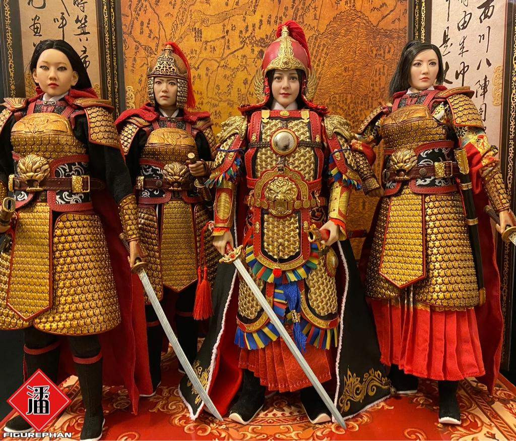 military - NEW PRODUCT: FENG TOYS: 1/6 Chinese Female General with Metal Armor (Qin Liangyu) 4858cc0c933d93c3145f2aeaa694cd43