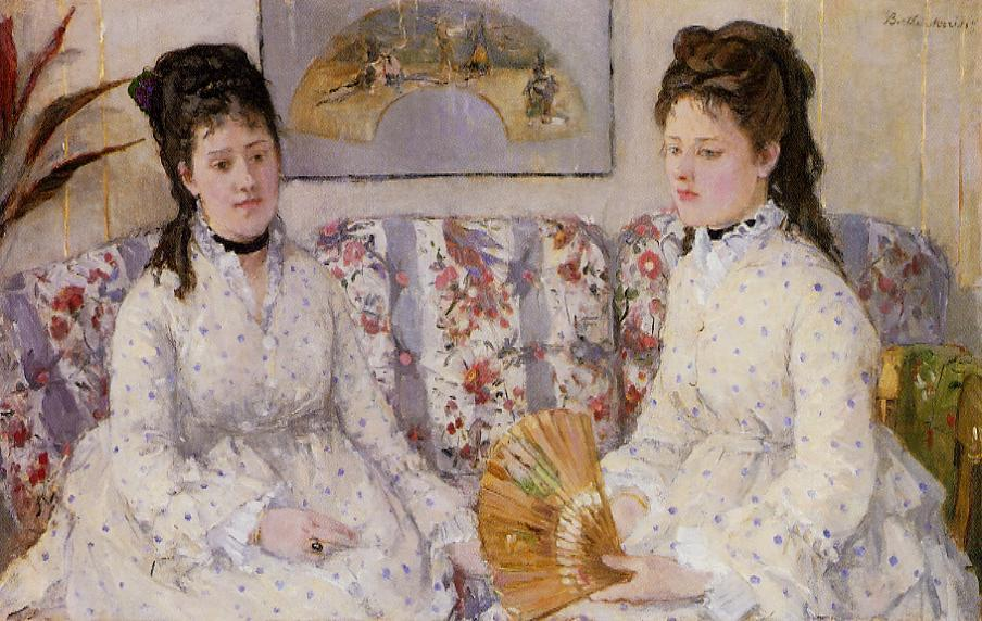 Berthe Morisot - Page 3 Two-sisters-on-a-couch