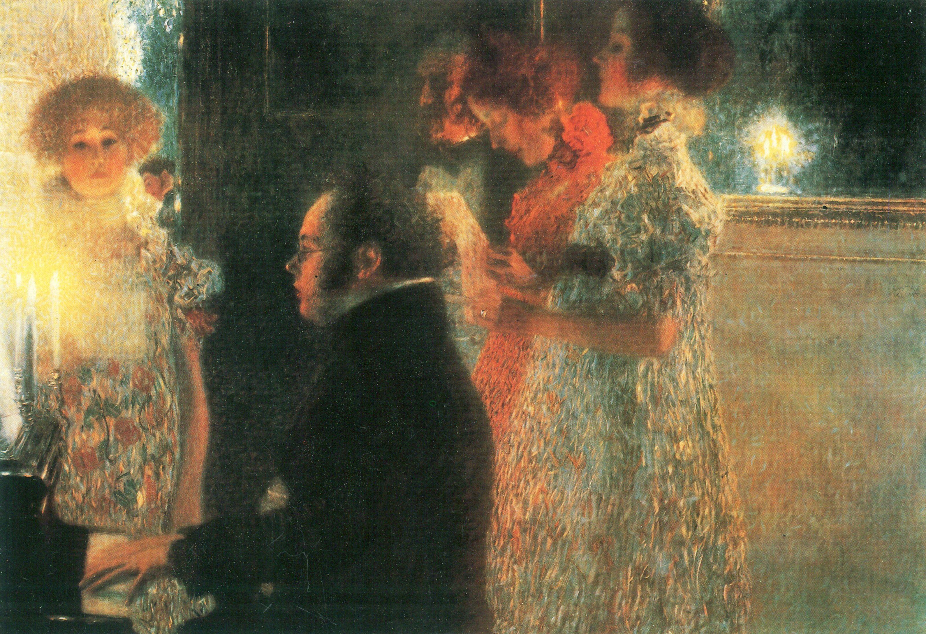 La peinture - Page 13 Schubert-at-the-piano-ii
