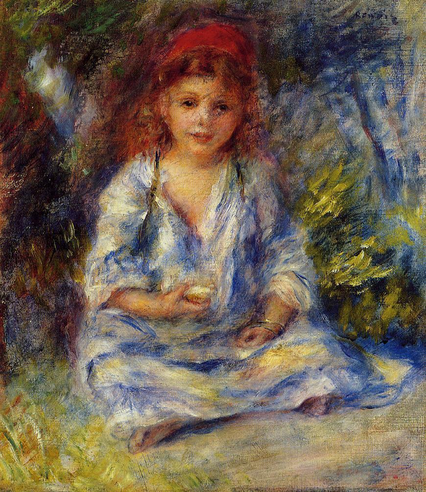 Artworks The-little-algerian-girl