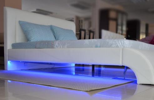 """Интерьерная интимная кровать """"Дакка"""" с подсветской снизу IntimOzersk"""