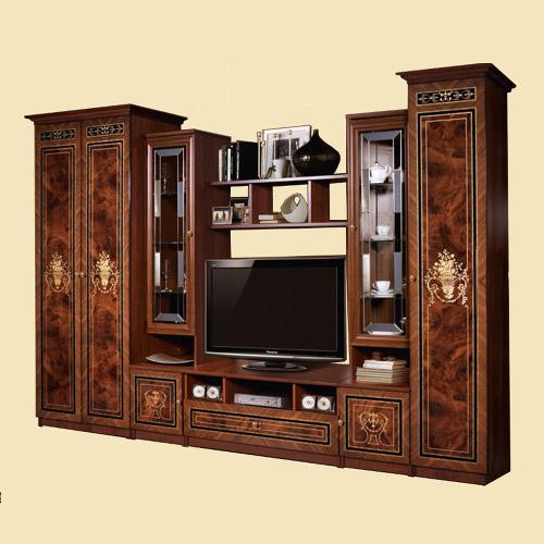 Гостиная КАРИНА-3 орех Цена 46000 руб. Kar-oreh1