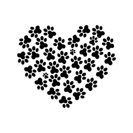 Ces petites choses qui vous rendent heureuse 12221730-print-2-paw-coeur