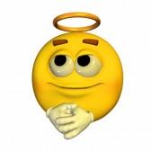 [JEU] Rouge ou jaune ? - Page 6 12675115-illustration-d-39-un-emoticone-angelique-jaune-isole-sur-un-fond-blanc