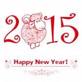 Nouvel An Chinois 31086719-drole-de-moutons-sur-fond-blanc-et-nouveau-symbole-chinois-vecteur-chevre-2015-annees-design-happy-a