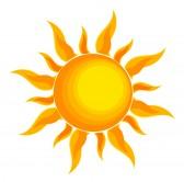 ... terminamos y comenzamos ... 9584352-sun-over-white