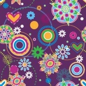 * Ese elemento agua * - Página 7 8631972-fleurs-resume-texture-homogene-tendance-hippie