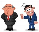 Diskusija - darba devējs un darba ņēmējs 16500301-boss-doesn-t-listen-worker