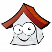 Nekustamais īpašums - Pirkt, pārdot, mainīt 7332865-funny-cartoon-house