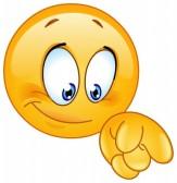 Felices Fiestas - Página 2 33549041-emoticon-apuntando-hacia-abajo-con-su-dedo