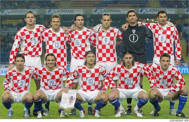 بطولة أمم أوروبا 2008 . Cro