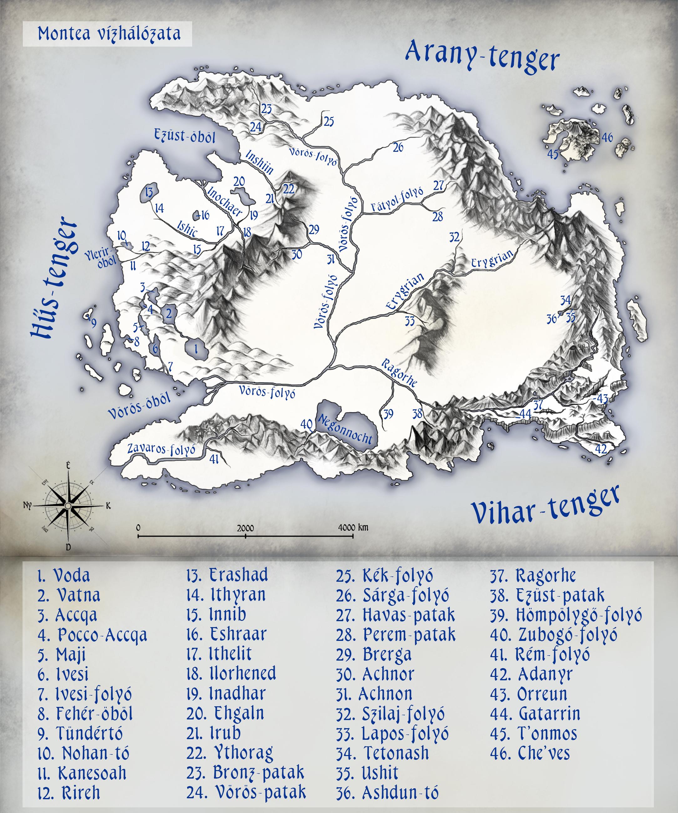 Montea kontinens vízrajzi térképe Vizrajz_montea_teljes