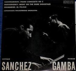 Esteban Sánchez Herrero (1934-1997) Rachmaninov