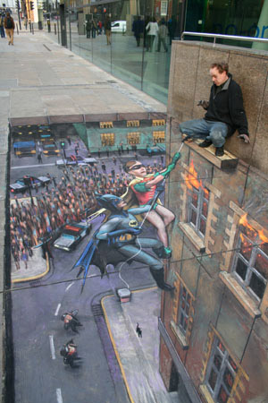 Un peintre pas comme les autres Batman