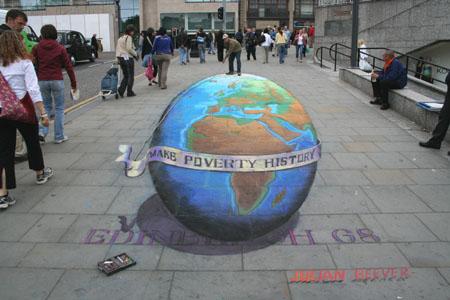 Un peintre pas comme les autres Globe