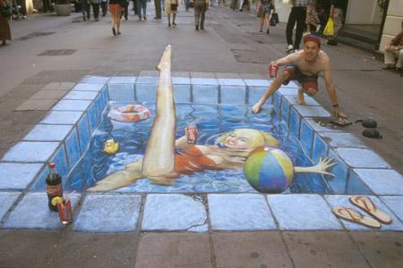 Un peintre pas comme les autres Swim2