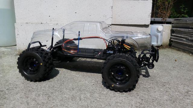 Slash 2WD to Monster Slash 2WD IMG_20170820_124227