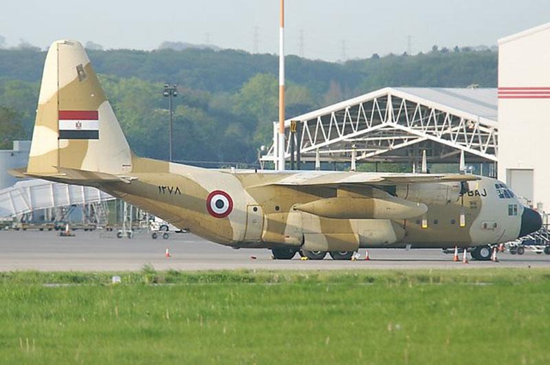 # فك رموز الطائرات الحربية # C130h_egypt4