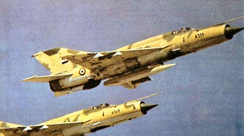 # فك رموز الطائرات الحربية # Ed_mig21