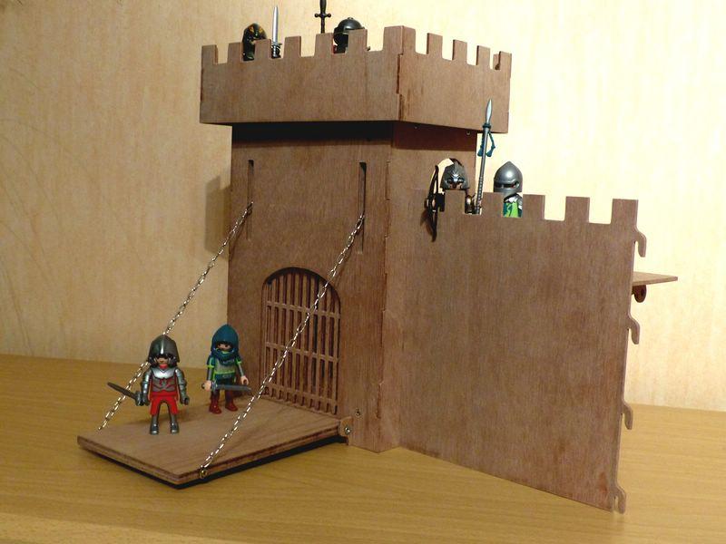 Un chateau-Fort a la CNC CF06