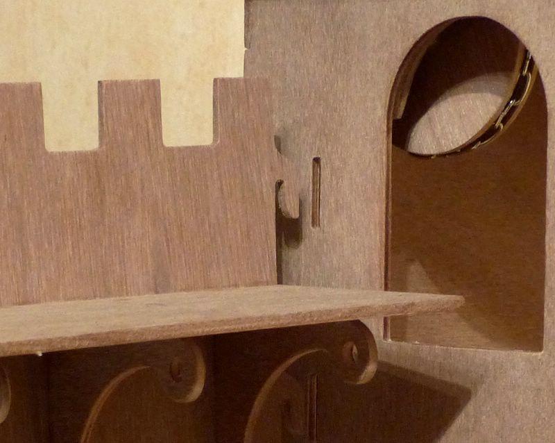 Un chateau-Fort a la CNC CF09