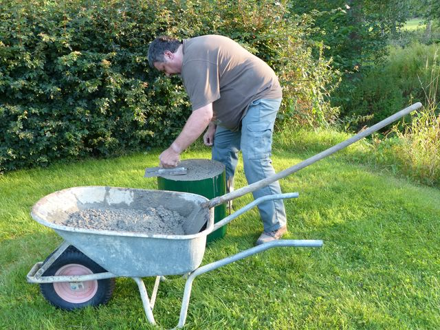 Installation PV + support au sol en auto-installation  PV08