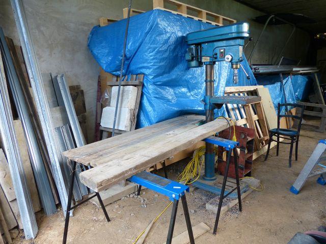 Installation PV + support au sol en auto-installation  PV15