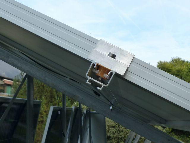 Installation PV + support au sol en auto-installation  PV21