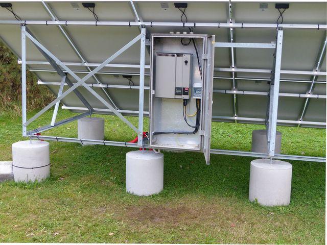 Installation PV + support au sol en auto-installation  PV26