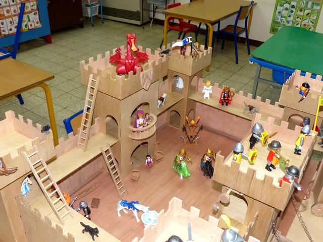 Un chateau-Fort a la CNC - Page 4 CF92