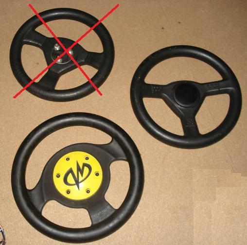 [FS] Sega & Midway steering wheels + shifters (Daytona,Scud) Midway