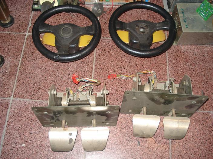 [FS] Sega & Midway steering wheels + shifters (Daytona,Scud) Virtuaracing