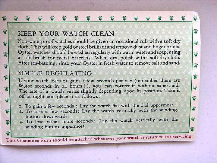 Bien utiliser sa montre automatique Notice