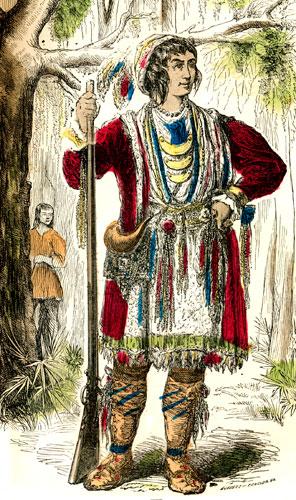 Indijanci - starosedeoci americkog kontinenta Osceola-1