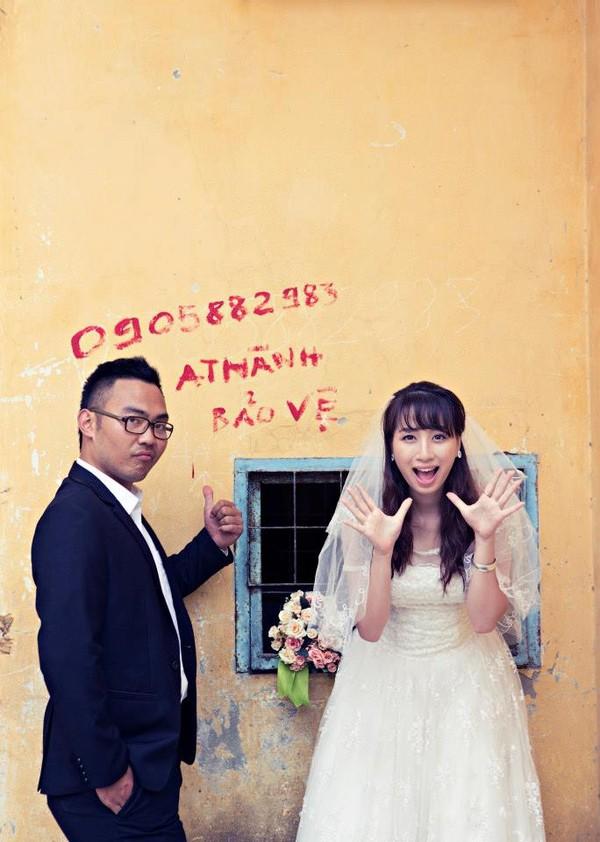 """Cặp đôi """"yêu nhau vì xấu"""" và bộ ảnh cưới chụp… ké trong 3 tháng 1413940361_11"""