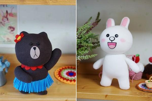 May gấu Brown và thỏ Cony từ tất cực đáng yêu 1416878280_10