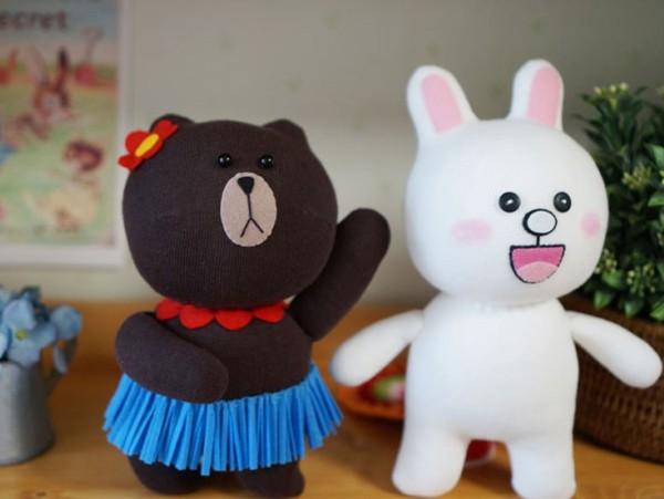 May gấu Brown và thỏ Cony từ tất cực đáng yêu 1416878281_13