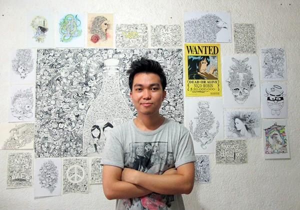 Tròn mắt với những bức tranh vẽ tay đầy mê hoặc của họa sĩ người Philippines 1417158010_1