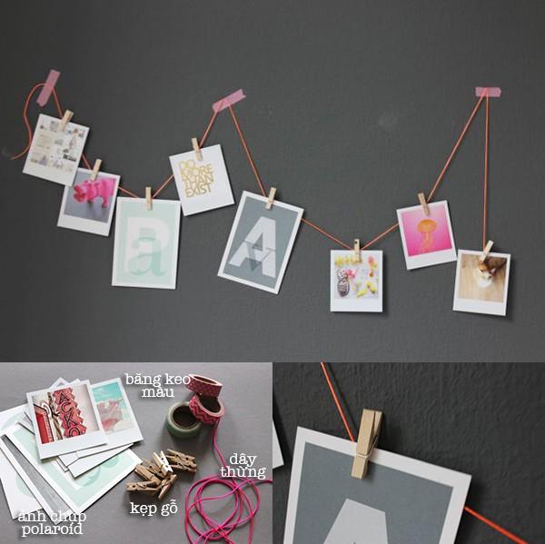 4 cách treo tranh trang trí phòng sáng tạo và độc đáo 1417398646_2