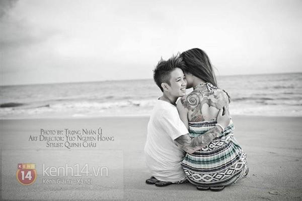 Cặp đôi đồng tính nữ ở Sài Gòn hạnh phúc trong ngày cưới 1417508958_5